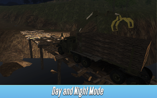 Logging Truck Simulator 3D APK screenshot 3