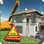 House Building Construction Games - City Builder for PC icon