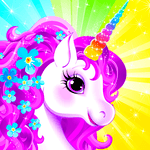 Unicorn Dress Up - Girls Games APK icon