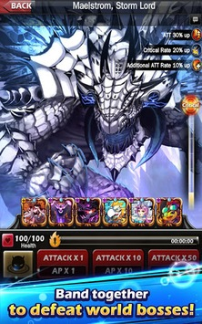 Monster Warlord APK screenshot 2