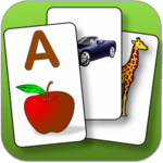 Kids  flashcard game APK icon