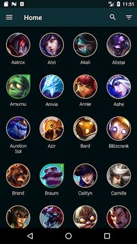 Builds for LoL APK screenshot 1