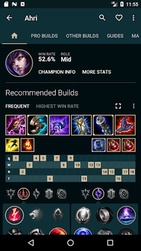 Builds for LoL APK screenshot 2