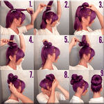 Girls Hairstyle Step by Step APK icon