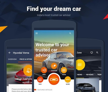 CarDekho - New & Used Cars Price & Offers in India APK screenshot 1