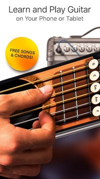 Real Guitar Free - Chords, Tabs & Simulator Games APK screenshot 1