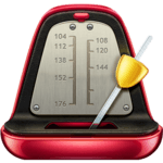 Real Metronome for Guitar, Drums & Piano for Free APK icon