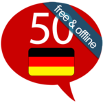 Learn German - 50 languages APK icon