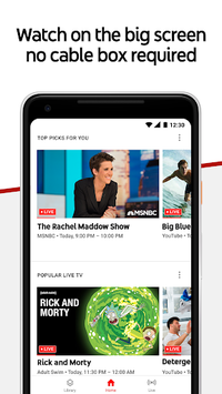 youtube tv apk android tv