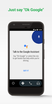 Android Auto - Google Maps, Media & Messaging APK screenshot 1