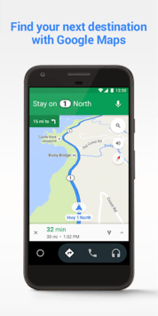Android Auto - Google Maps, Media & Messaging APK screenshot 2