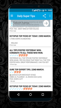 Octopus Betting Tips APK : Download v12 2 3 for Android at