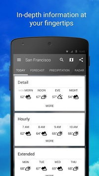 1Weather:Widget Forecast Radar APK screenshot 2