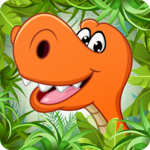 Kids puzzle for preschool education - Dinosaur APK