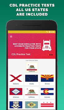 CDL Practice Test 2018 APK screenshot 1