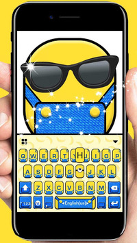 Cartoon Yellow Me Keyboard Theme APK : Download v1 0 for