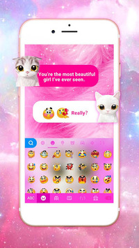 Pink Cat Keyboard Theme APK : Download v1 0 for Android at