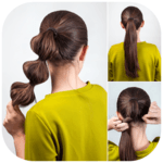 Easy Hairstyles step by step DIY APK icon