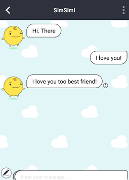 SimSimi APK screenshot 1