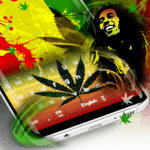 Weed Reggae Keyboard APK icon