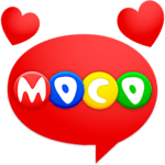 Moco - Chat, Meet People APK icon