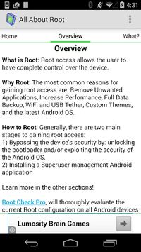 Root for Android - All About APK : Download v1 3 5 for Android at