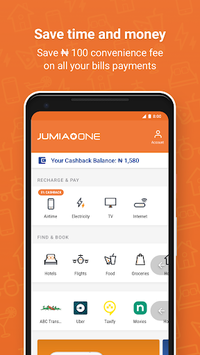 Jumia One: Airtime and TV/Electricity bill payment APK : Download v2