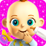 Talking Babsy Baby: Baby Games APK icon