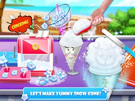 Snow Cone Maker - Frozen Foods APK screenshot 2