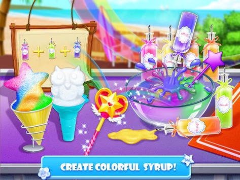 Snow Cone Maker - Frozen Foods APK screenshot 3