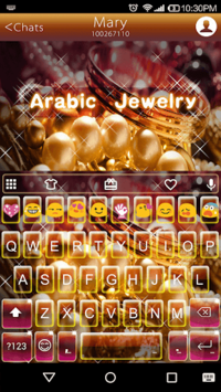 Arabic Jewelry Emoji Keyboard APK : Download v1 1 4 for Android at