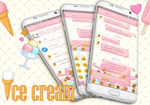 SMS Messages Ice Cream Theme APK : Download v3 0 for Android