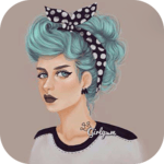 Cute Girly m pictures APK icon