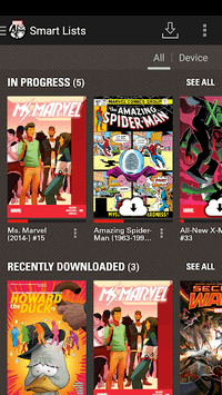 Marvel Comics APK screenshot 2