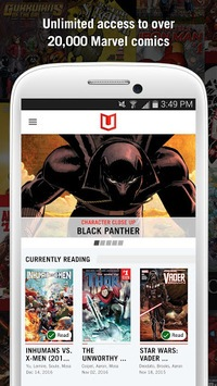 Marvel Unlimited APK screenshot 1