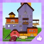 Hey Neighbor: Funny Mini-game. Map for MCPE APK icon