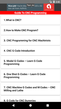 Guide To CNC Programming APK : Download v1 0 for Android at