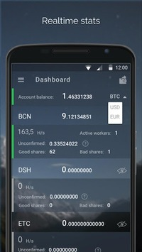 MinerGate Mobile Miner APK : Download v2 3 5 for Android at