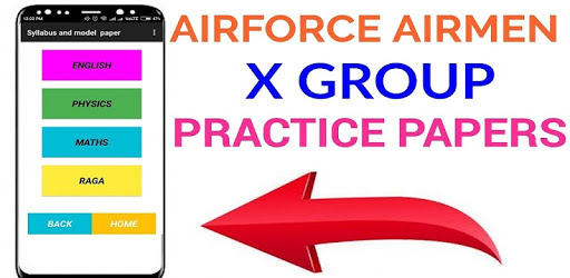 Airforce x group previous year & solved papers APK : Download v1 6