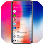 Messaging 7 theme for Phone X APK icon