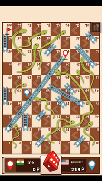 Snakes & Ladders King APK screenshot 1