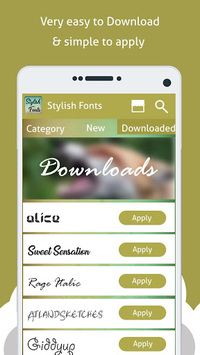 Stylish Fonts Free APK : Download v1 6 for Android at