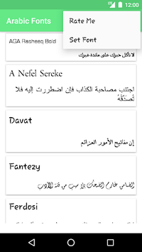 Arabic Fonts for FlipFont APK : Download v1 4 for Android at AndroidCrew