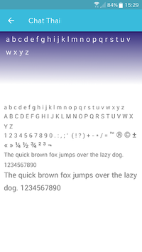 Thai Light Fonts for FlipFont APK : Download v1 1 for