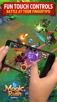 Magic Rush: Heroes APK screenshot 1