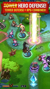 Magic Rush: Heroes APK screenshot 2