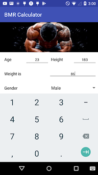 BMR Calculator APK : Download v1 0 for Android at AndroidCrew
