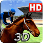 Virtual Horse Racing 3D APK icon