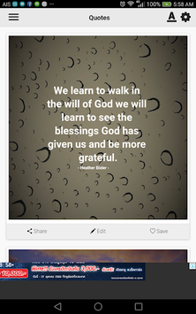 Blessed Quotes APK screenshot 1
