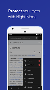 opera browser apk download android
